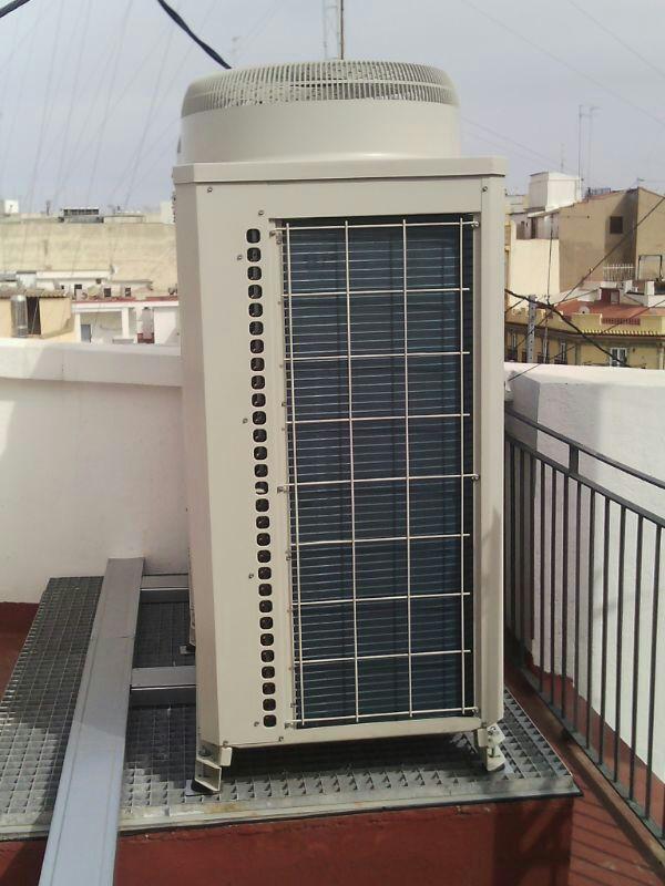 Climatización planta edificio